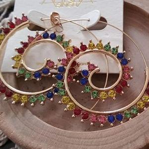 Amrita Singh earrings nwot